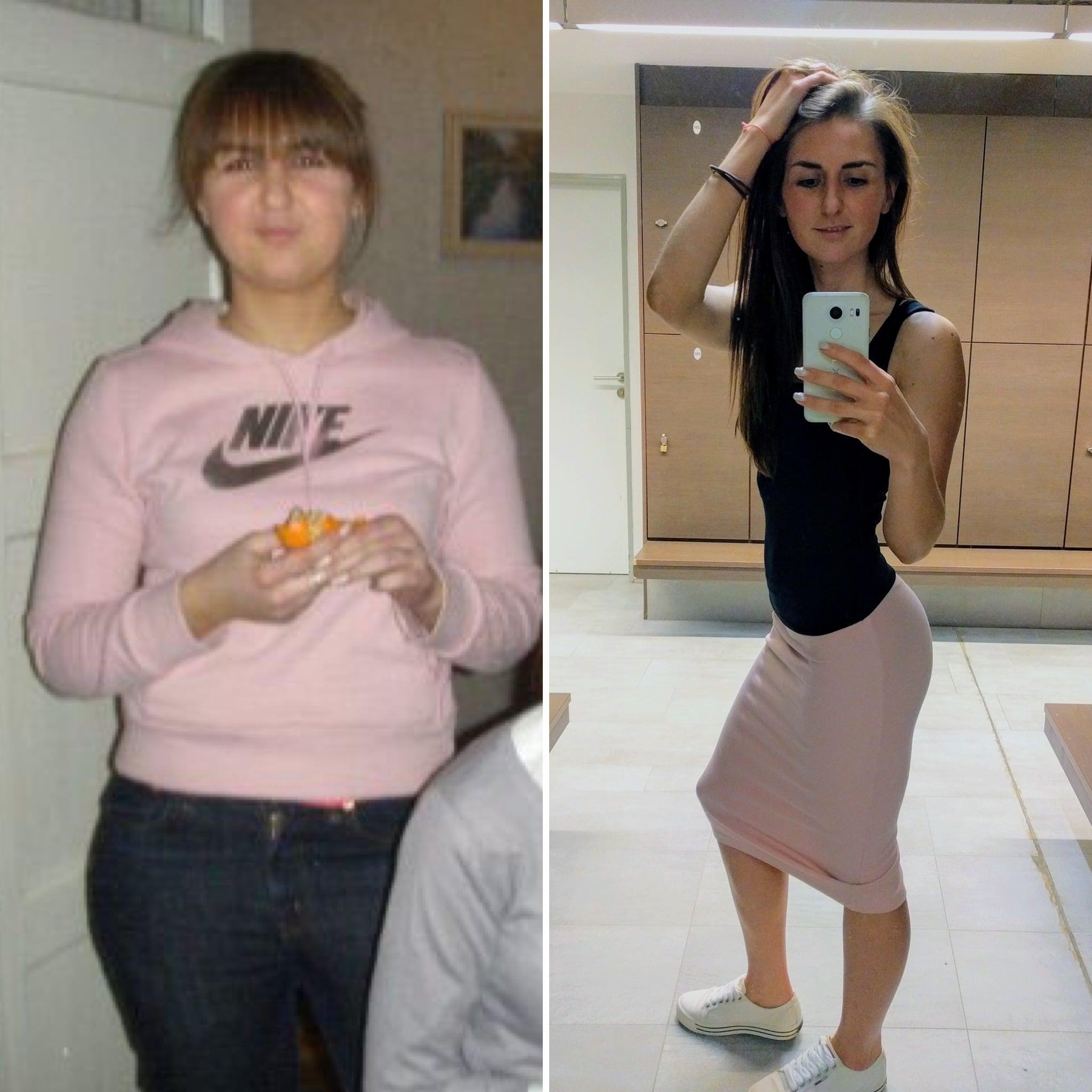 история похудения Виктории