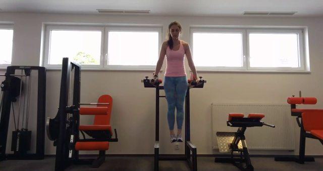 Упражнение упражнение подъем ног в упоре на прямых руках на пресс