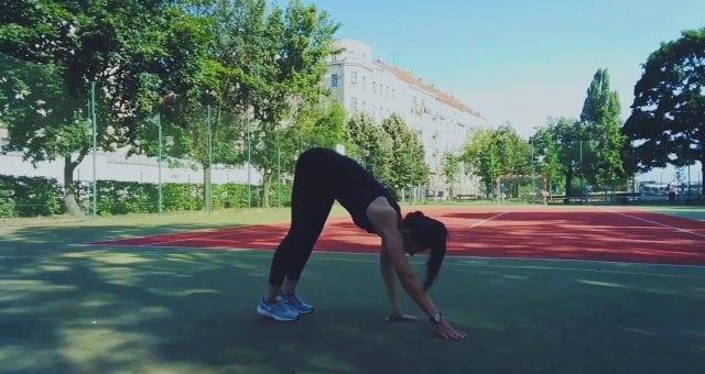 упражнение выход в планку с отжиманием