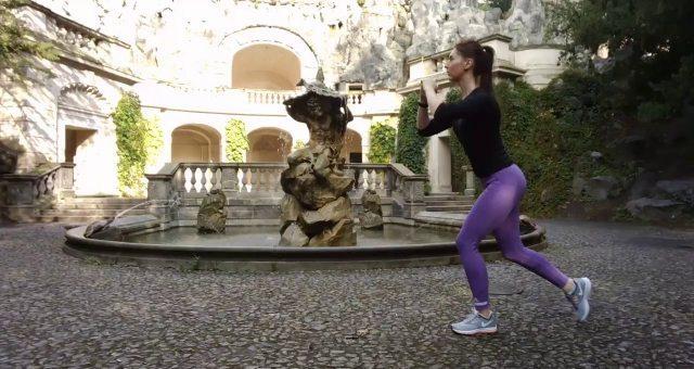 Упражнение упражнение выпады вперед-назад-в сторону