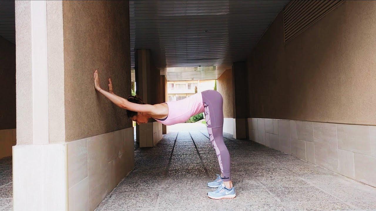 Упражнение упражнение на растяжку мышц спины стоя