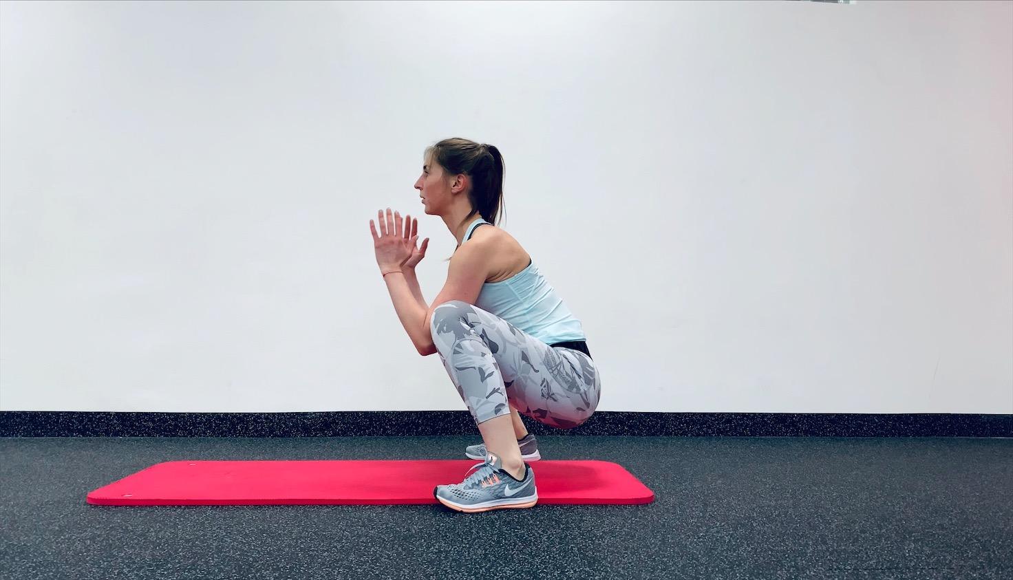 Упражнение Прыжок в планку